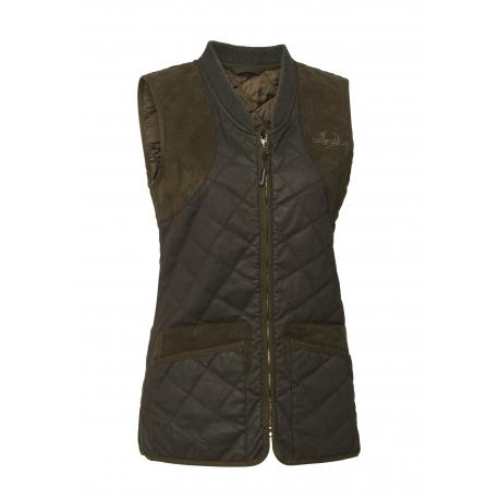 Chevalier Vintage Quilt Waistcoat-vesta
